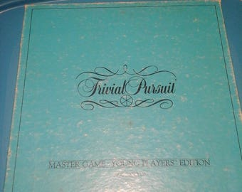 Vintage Trivial Pursuit Master Game Young Players Edition 1984