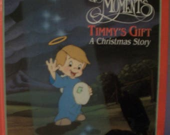 Timmy's Gift : A Christmas Story (1991, Hardcover) Precious Moments