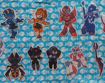Transformers Sparkle Stickers