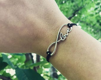 Love infinity bracelet