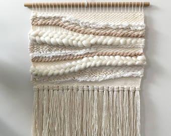 Blushing Boho | Woven wall hanging | Weaving | Wall Art | Home decor