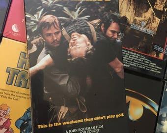 FACTORY SEALED VHS Deliverance (1972) Action Adventure 1990 Warner Video Burt Reynolds Jon Voight