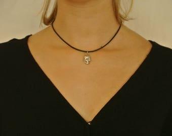 Skull Choker Necklace