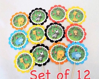 jungle baby animals 12 jungle party decorations birthday party zoo animals jungle baby