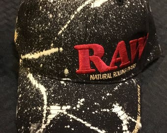 Bleached RAW hat