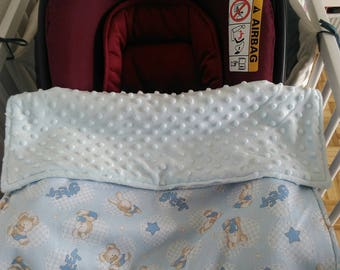 Stroller cover / cozy / basket pattern rabbits