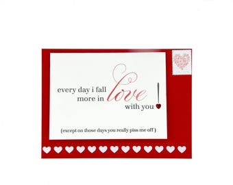 Hand Painted Envelopes (A7) -  Red - 25pc