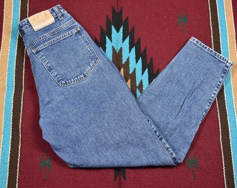 Vintage High Waisted Girbaud Denim Blue Jeans