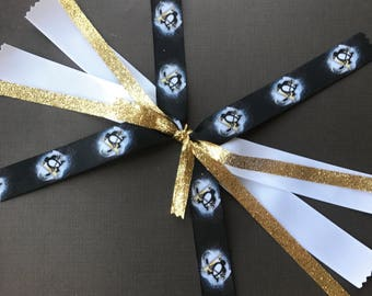 Pittsburgh Penguins Ponytail Streamer