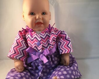 "15"" baby doll dress, Bitty Baby"