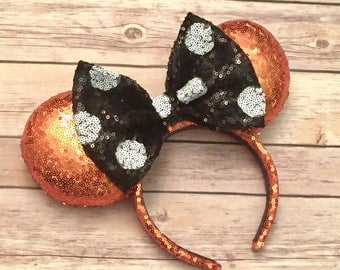 Classic Halloween sequin ears