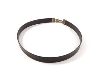 Brown Choker necklace