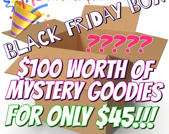 BLACK FRIDAY Mystery Box - Limited Stock