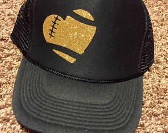 Football Mom Hat | Football Sister Hat | Football Life | Trucker Hat | Sports Mom | Football Hat | Team Mom | Christmas Gift | Touchdown