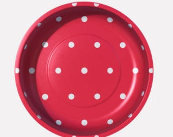 Magnetic Pin Bowl (Red Dot) - Pleasant Home for Riley Blake