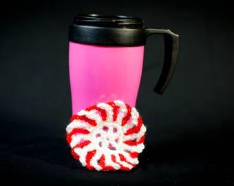 Christmas Peppermint Coaster