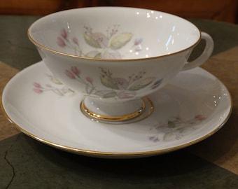 Furstenberg Footed Teacup and Saucer 02165