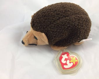 Ty Beanie Baby Prickles the Hedgehog February 19, 1998  Original MWT Gift Quality