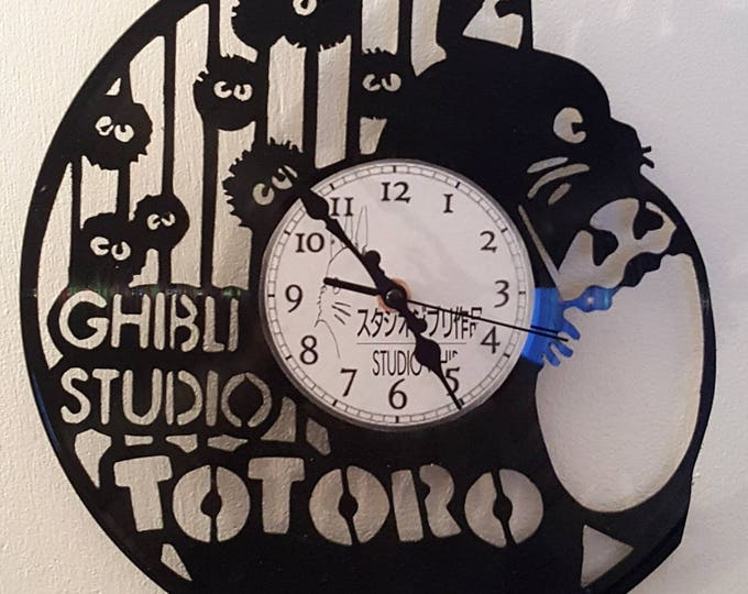Vinyl 33 clock towers totoro theme