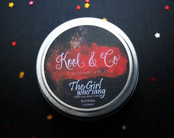 The Girl Who Sang (EO) | Red Rising Inspired Soy Candle