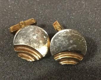 SPRINGSALE Vintage round cuff links