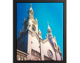 "Fine Art Photography ""Peter and Paul"" Framed Stretched Canvas"