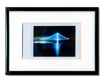 "Fine Art Photography ""Eastern Span"" Framed Instax Mini Print"