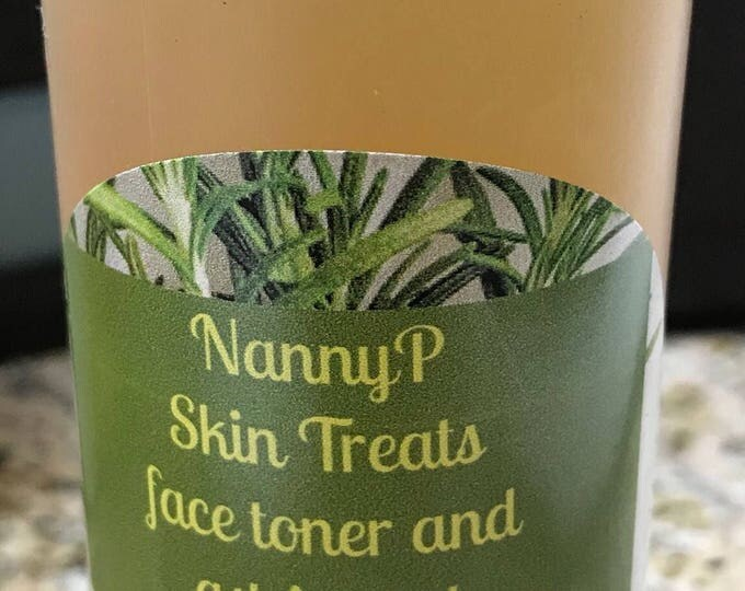 Organic Face Toner And Acne Treatment - CERTIFIED AROMATHERAPIST