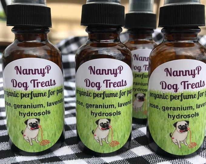 Organic Dog Perfume And Flea Deterrent -Certified Aromatherapist
