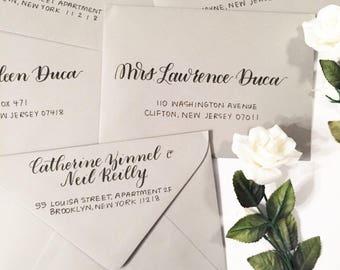 Envelope Addressing/ Wedding Envelopes / Custom Envelope Addressing