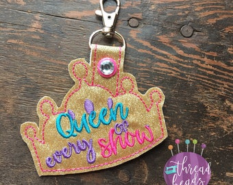 Crown | Key Fob | Bag Tag | Key Chain | Gift Tag