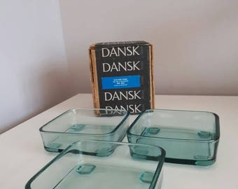 Dansk Set of 3 Glasses No. 864 Staved Teak.
