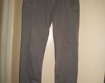 Vintage GAP 1969 Slimfit Button Fly Khaki Pants size 32 x 32