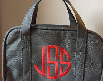 Monogrammed LDS Scripture bag, Basptism Gift, bible tote, Monogrammed with handles