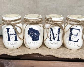 HOME Mason Jars