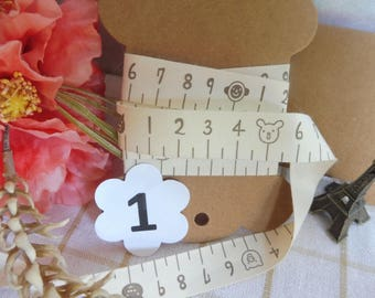 Cotton vintage style designs set 3 m here listed and numbered