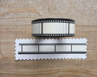 Tape 10 m with 1.5 cm photographic film drawing