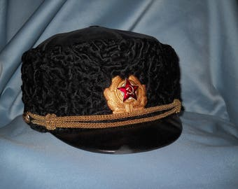 Hat for Soviet submarine commader in Cold War ! Very rare ! Soviet Navy