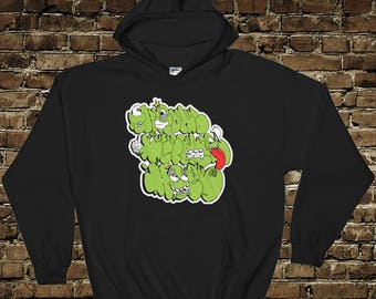 Exclusive Throws Before Hoes Pullover Hooded Sweatshirt