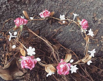 Crown Porcelain Flowers
