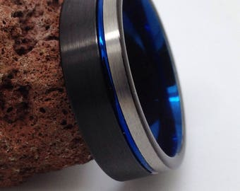 Men's Wedding band, Tungsten wedding band,Tungsten wedding ring,Tungsten Carbide Ring,Promise ring,Wedding band,Tungsten Band