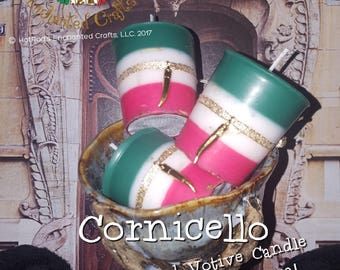 Cornicello ~ Royal Enchanted Votive Candle