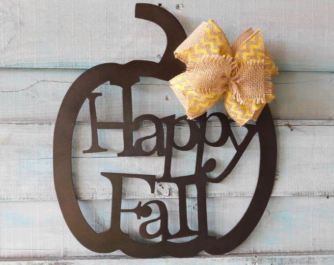 Fall Pumpkin Wreath, Fall Wreath, Fall Door Decor, Pumpkin Door Hanger, Pumpkin Wreath, Pumpkin Decor, Pumpkin Door Hanger Fall , Fall Decor