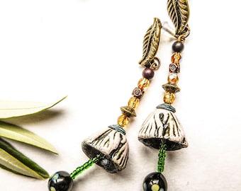The angelus bells earrings