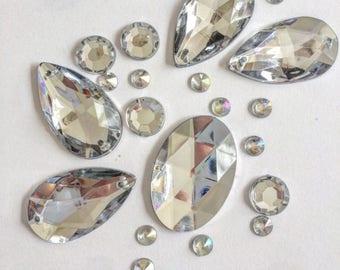 Diamond gal body / body jewels / gems