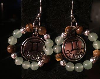 Gemini Talisman earrings