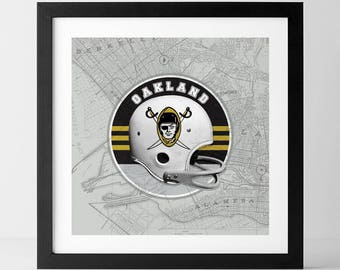 Vintage NFL: Oakland Raiders-inspired