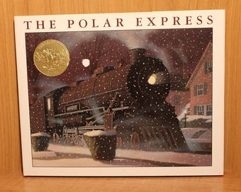 Christmas Classic ~ The Polar Express ~ Children's Book ~ Hardcover with Dust Jacket ~ Gift Quality ~ Chris Van Allsburg ~ Collectible 1985
