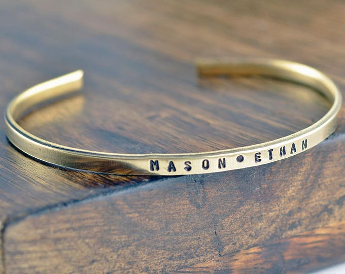 Personalized Mother Bracelet, Mommy Bracelet, Custom Name Bracelet, Mothers Day Gift, Gift for Mom, Mother's Jewelry, Name Cuff Bracelet