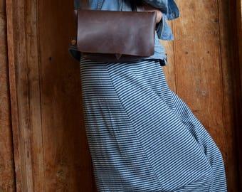 """Handbag """"Pepa"""" chocolate-brown"""